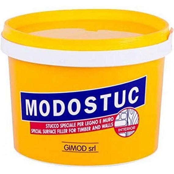 Enduit de restauration ZECCHI Modostuc - Pot:500 gr - Teinte teck