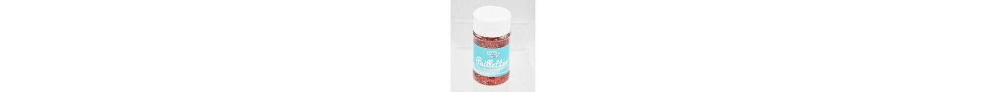 Paillette - Pot: 60 Ggr - Rouge