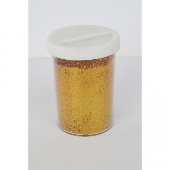 Paillette - Pot: 100 gr - Pot type salière - Or