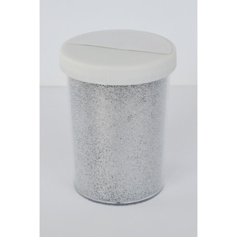 Paillette - Pot: 100 gr - Pot type salière - Argent