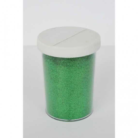 Paillette - Pot: 100 gr - Pot type salière - Vert