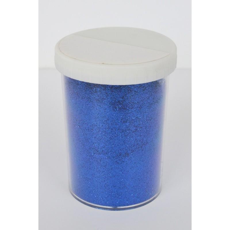 Paillette - Pot: 100 gr - Pot type salière - Bleu