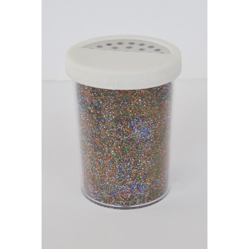 Paillette - Pot: 100 gr - Pot type salière - Multicolore