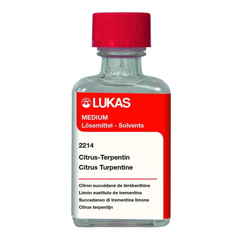 Diluant LUKAS Citrus - Flacon:50 ml