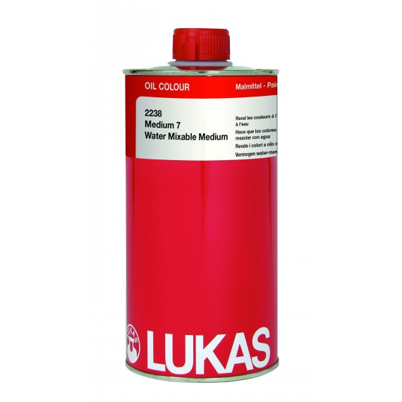 Médium huile LUKAS - Médium 7 - Flacon:  1 Litre