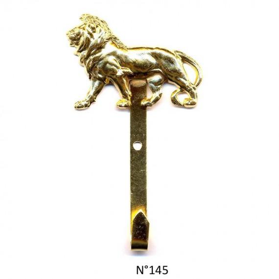CROCHET MAIRE DORE OR FIN LION