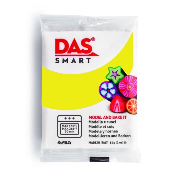 Pâte à modeler DAS SMART - Sachet de 57 gr - Jaune citron