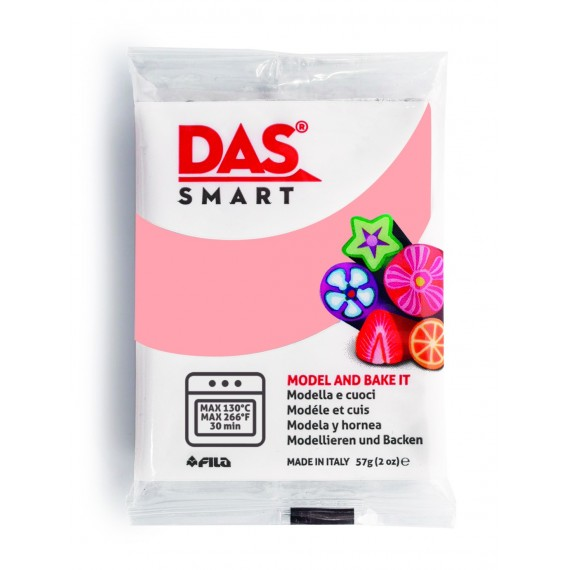 Pâte à modeler DAS SMART - Sachet de 57 gr - Rose chair