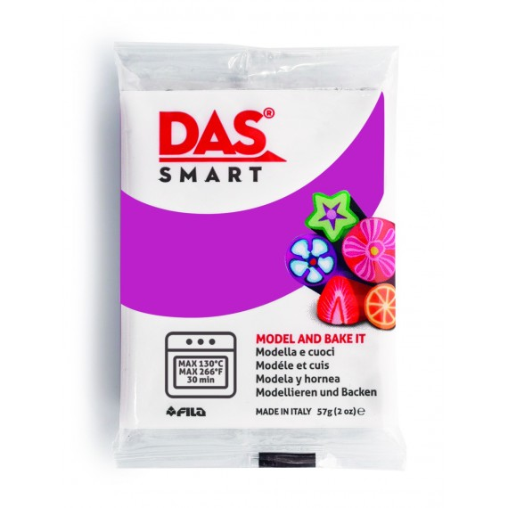 Pâte à modeler DAS SMART - Sachet de 57 gr - Géranium