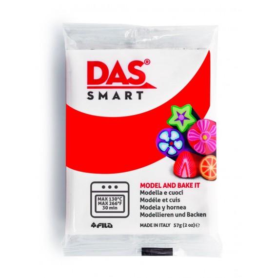 Pâte à modeler DAS SMART - Sachet de 57 gr - Rouge écarlate