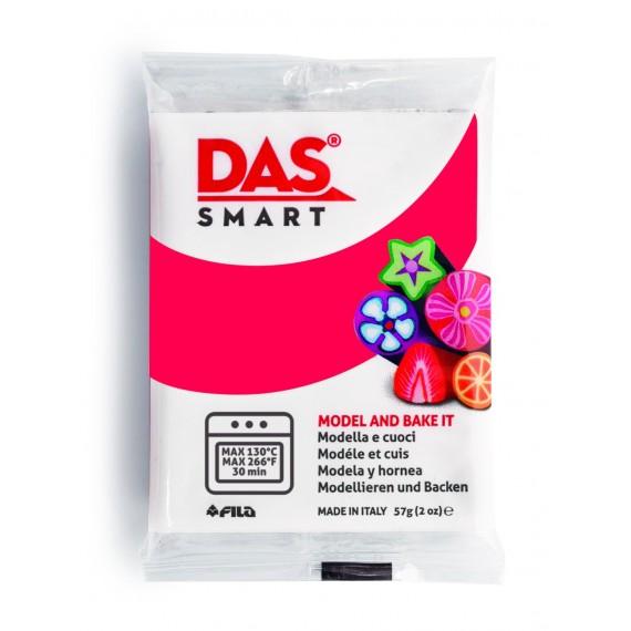 Pâte à modeler DAS SMART - Sachet de 57 gr - Rouge carmin