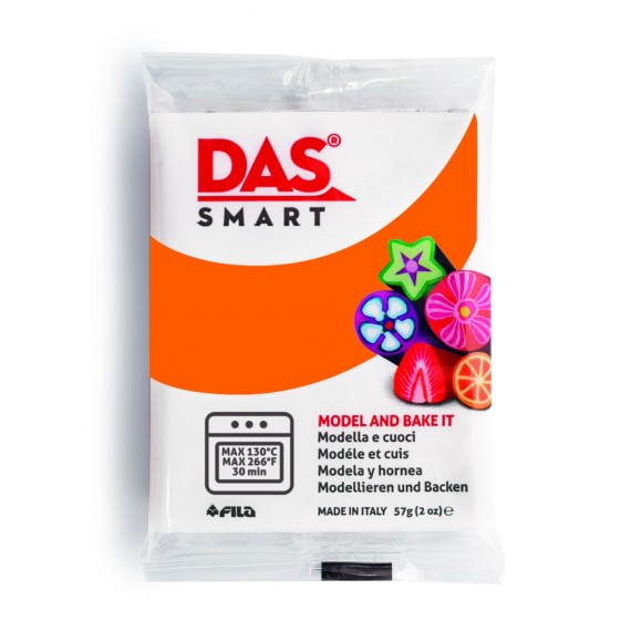 Pâte à modeler DAS SMART - Sachet de 57 gr - Orange