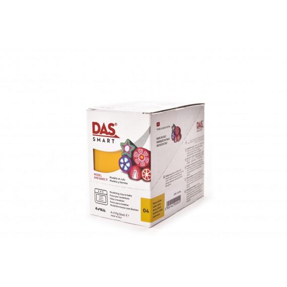 Pâte à modeler DAS SMART - Sachet de 57 gr - Jaune primaire