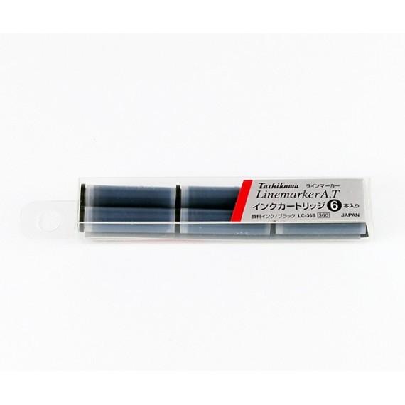 Cartouche encre TACHIKAWA - Pour stylo-plume Line marker - Boite de