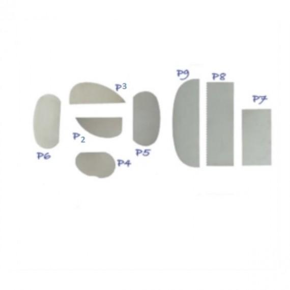 PALETTE ACIER INOX SERIE P6