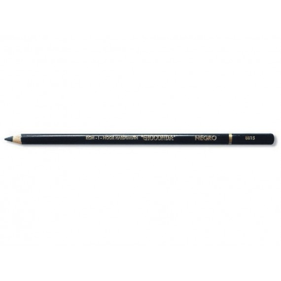 Crayon esquisse KOH-I-NOOR Beaux-arts - Nero - Noir gras