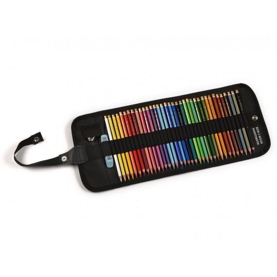 Trousse crayon couleur CORECTOR Polycolor - Trousse souple - 36 Crayons Polycolor