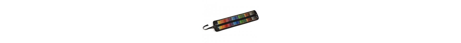 Trousse crayon couleur CORECTOR Polycolor - Trousse souple - 72 Crayons Polycolor
