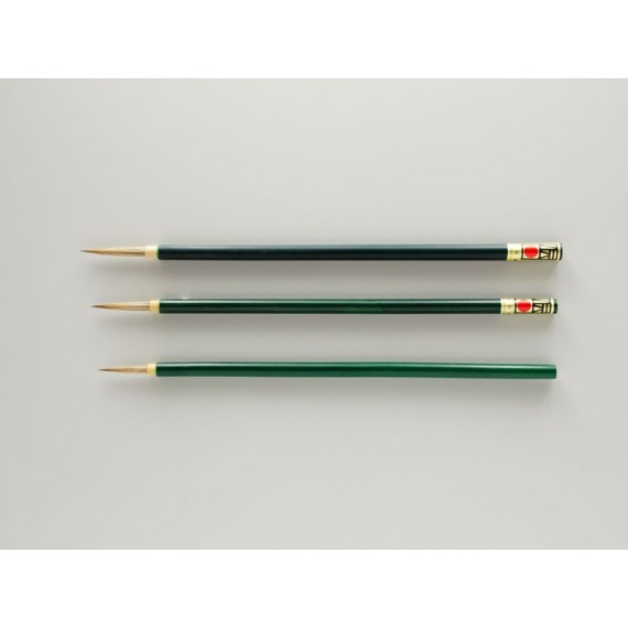 Pinceau Japonais en  Raton-laveur blanc  N.35