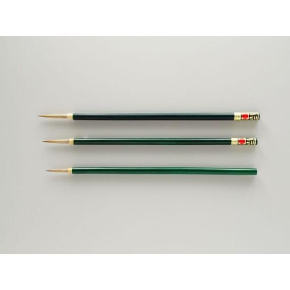 Pinceau Japonais  en Raton-laveur blanc  N.37