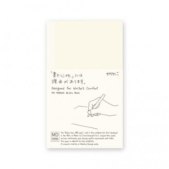 CARNET NOTEBOOK MD - B6 - BLANK ENGLISH CAPT - PAPIER BLANC