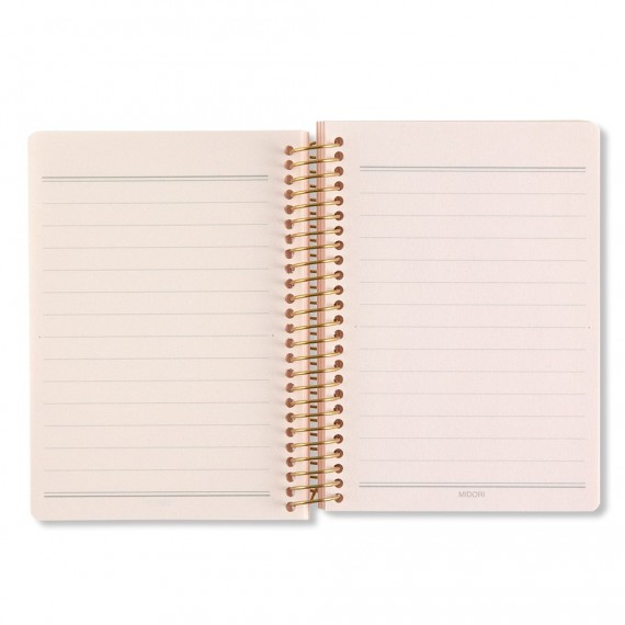 CARNET NOTE BOOK COLOR A7 - ROSE