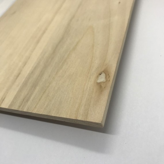 Panneau brut RS - Bois - Tilleul - F:03 Figure (22 x 27 cm) - Prix net