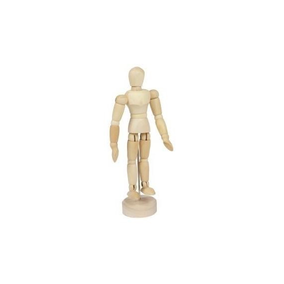 Mannequin CORECTOR - En bois - 12 cm - A12101 - Homme