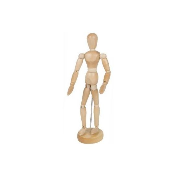 Mannequin CORECTOR - En bois - 20 cm - A12201 - Homme