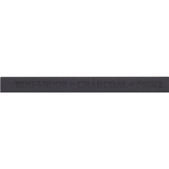 Craie - Carré pierre noire - Noir intense - 7 x 7 mm - N.1