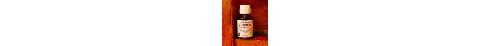 Teinte brou de noix OCRINE- Flacon:100 ml