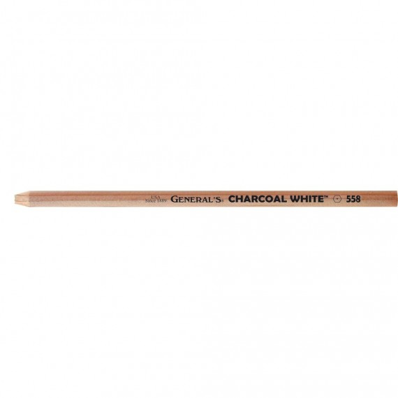Crayon fusain CHARCOAL 558 - Blanc