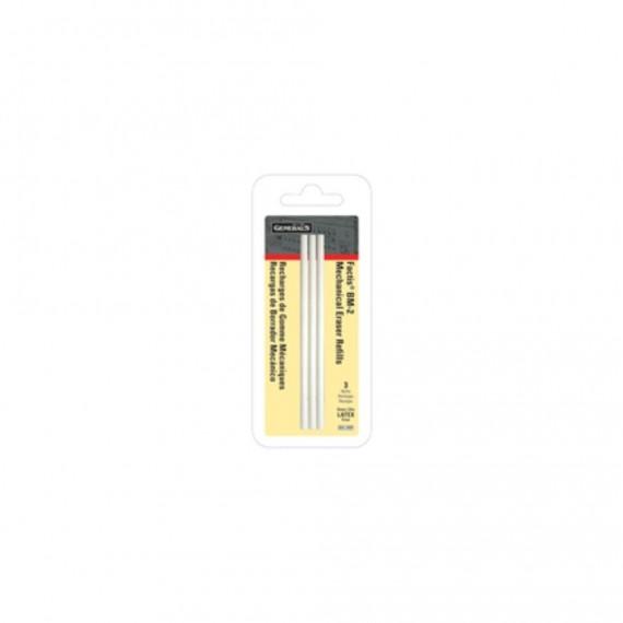Recharge gommes FACTIS - Blister de 3 gommes blanche - Pour stylo-gomme FACTIS