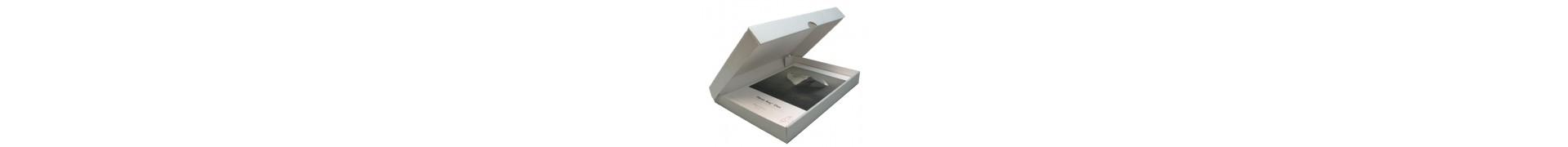Boite rangement HAHNEMUHLE - Portefolio pour archivage  - Format: A3+ - 3 mm