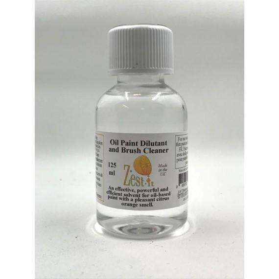 Diluant ZEST-IT - Pour Huile et  nettoyant pour brosse - Flacon:125 ml