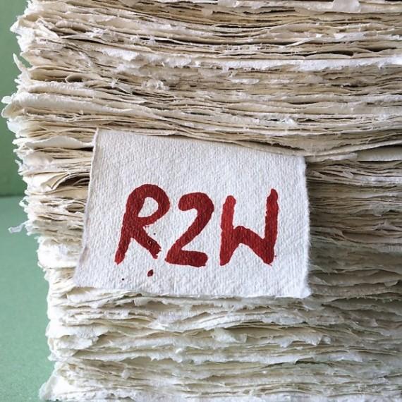 Papier du monde KHADI Indien R2 W ROUGH - 320g - F:56 x 76 cm