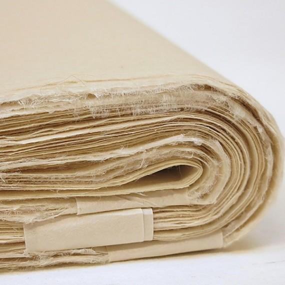 Papier du monde KHADI Indien JDK MITSUMATA - 20g - F:54 x 82 cm - Doux