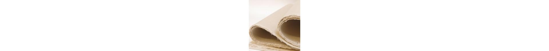Papier du monde KHADI Indien JM4 MITSUMATA - 60g - 54 x 80 cm - Doux