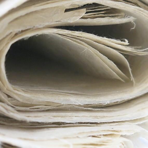 Papier du monde KHADI Indien L05N MOUNTAIN  - 10g - 50 x 75 cm - Papier moyen