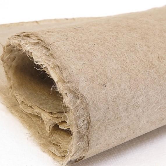 Papier du monde KHADI Indien JL3 LOKTA - 30g - F:54 x 80 cm - Doux