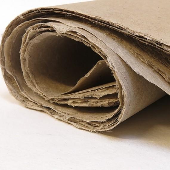 Papier du monde KHADI Indien JL4 LOKTA - 60g - F:54 x 80 cm - Doux