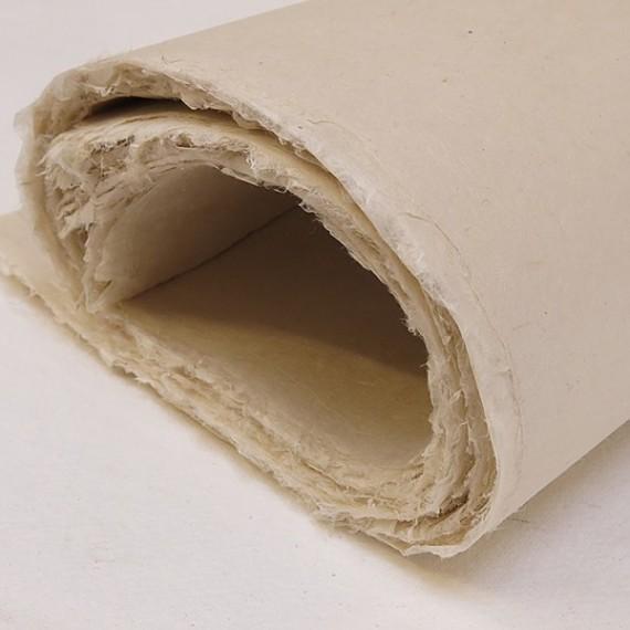Papier du monde KHADI Indien JM3 MITSUMATA - 30g - F54 x 80 cm - Doux