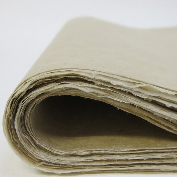 Papier du monde KHADI Indien L10N MOUNTAIN - 30g - 50 x 75 cm - Papier moyen