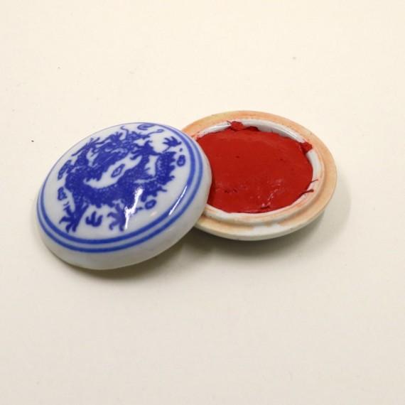 Encre  spéciale - Encre en pâte - Rouge à signer - TI-01