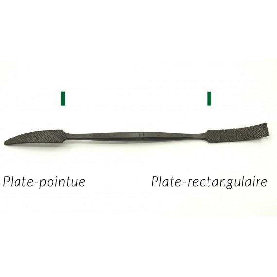RIFLOIR A MARBRE AURIOU L 150 (FORMES 1 A 6) PLATE POINTUE/ PLATE RECTANGULAIRE