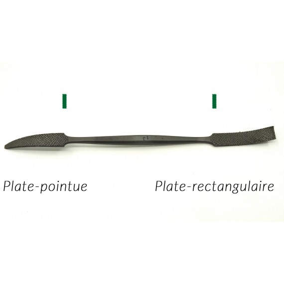 RIFLOIR A MARBRE AURIOU L 175 (FORMES 1 A 6) PLATE POINTUE/ PLATE RECTANGULAIRE