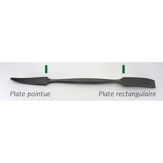 RIFLOIR A MARBRE AURIOU L 200 (FORMES 1 A 6) PLATE POINTUE/ PLATE RECTANGULAIRE