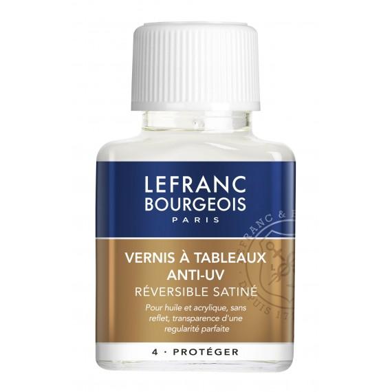 Vernis LEFRANC & BOURGEOIS - Vernis à tableau satiné - F:75 ml