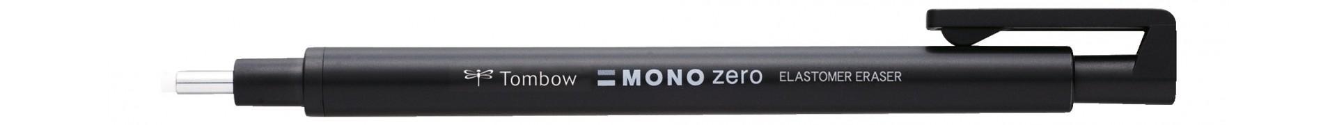 Stylo gomme tombow mono zero pte ronde diam. 2.3 mm noir | magasin sennelier paris depuis 1887