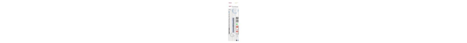 Blister stylo gomme mono zero  + recharge pointe ronde - ehr-kur   magasin sennelier paris depuis 1887
